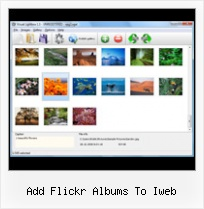 Add Flickr Albums To Iweb Slideshow With Integration Flickr