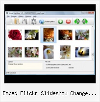Embed Flickr Slideshow Change Background Color Jquery Image Gallery And Flickr