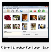 Flickr Slideshow For Screen Saver Iframe Static Flickr Album
