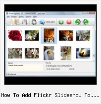 How To Add Flickr Slideshow To Blogger Tumblr Inports From Flickr Small Size