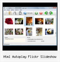 Html Autoplay Flickr Slideshow Flickr Views Howto