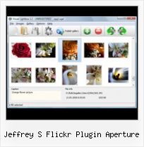 Jeffrey S Flickr Plugin Aperture Code To Integrate Flickr Onto Webpage