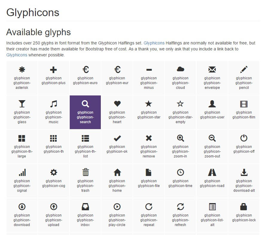 Bootstrap Icons  formal documentation