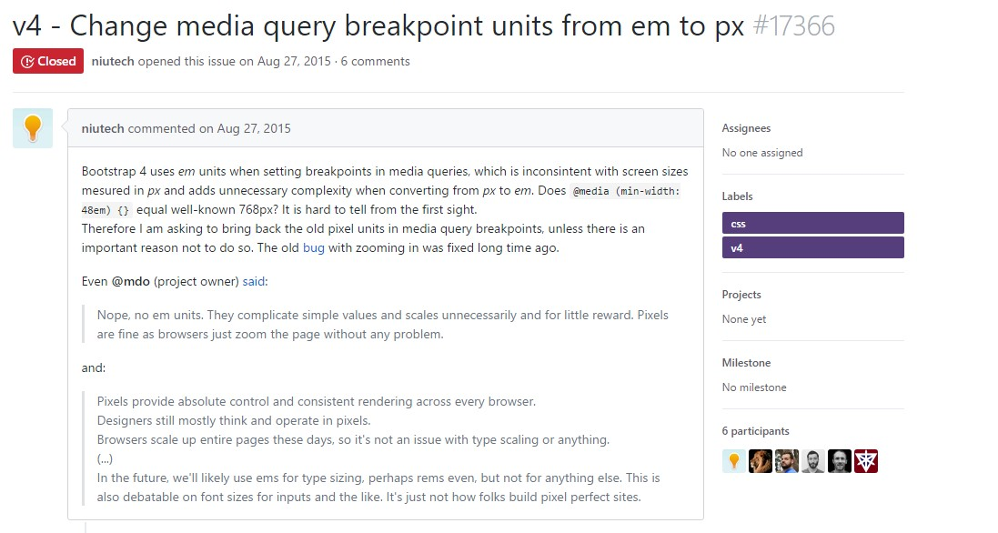 Change media query breakpoint  systems from 'em' to 'px'