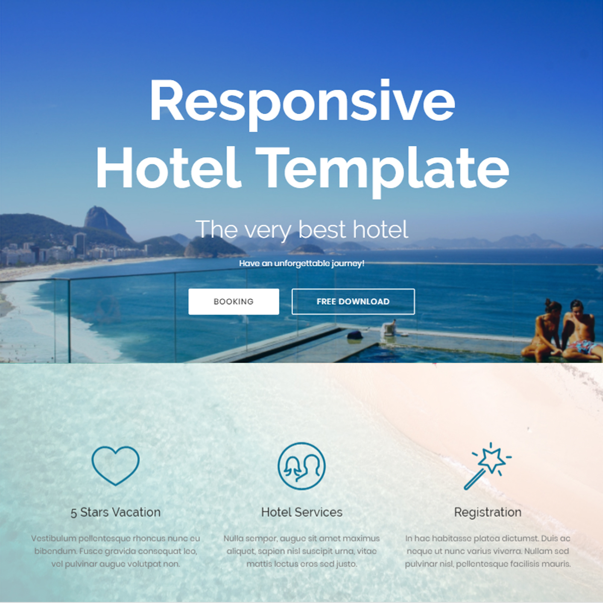 CSS3 Bootstrap Hotel Themes