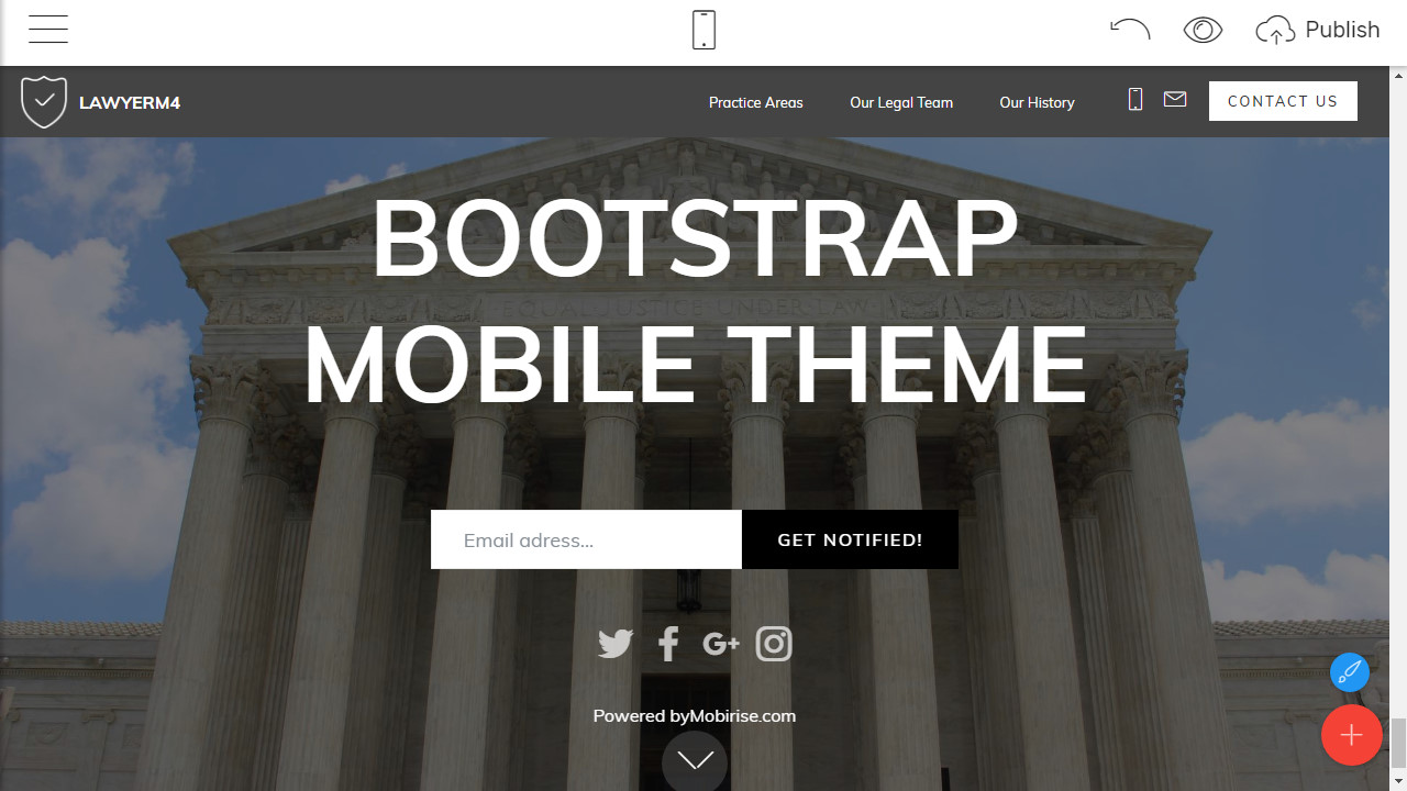 Bootstrap Webpage Template