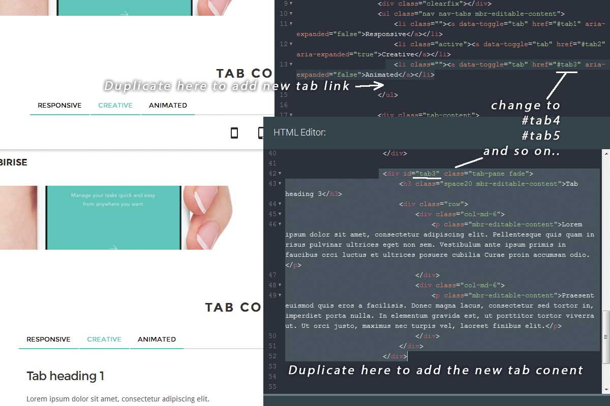 Free Bootstrap Material Design Theme