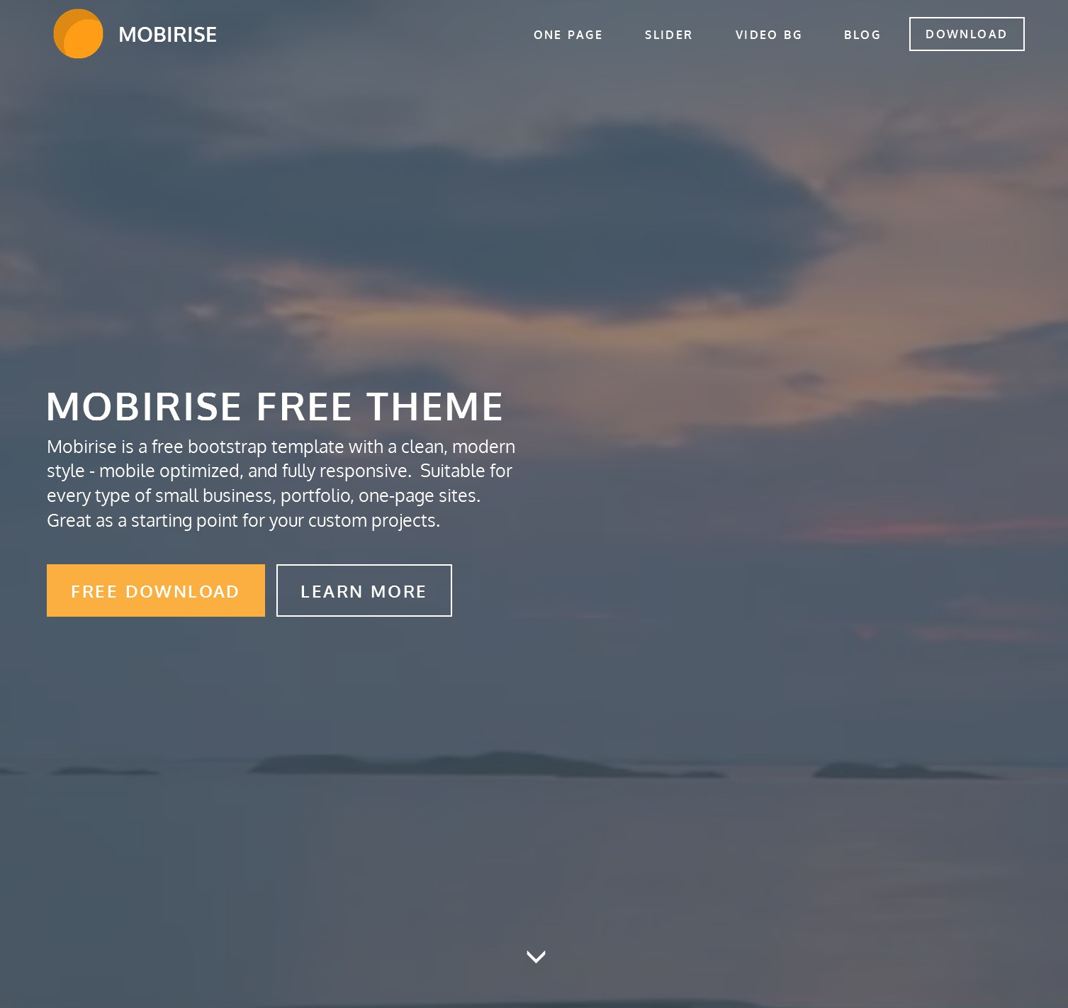 CSS3 Bootstrap Coming Soon Theme