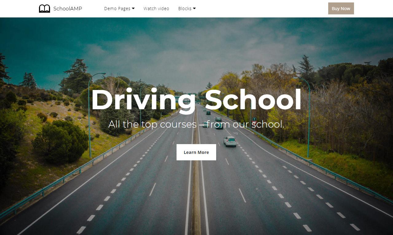 Basic HTML Website Template